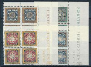 Liechtenstein  4er Eckrand Block **/MNH  1099-02 ( zz5364 ) DISCOUNT-unter ABO Preis !!