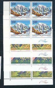 Liechtenstein  4er Eckrand Block **/MNH  1000-03 ( zz5367 ) DISCOUNT-unter ABO Preis !!
