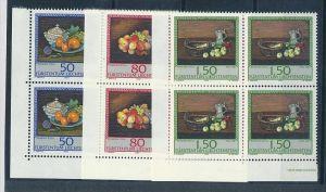 Liechtenstein  4er Eckrand Block **/MNH  990-92 ( zz5369 ) DISCOUNT-unter ABO Preis !!