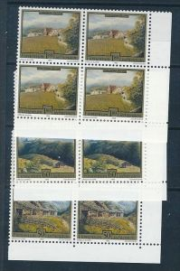 Liechtenstein  4er Eckrand Block **/MNH  1056-8 ( zz5370 ) DISCOUNT-unter ABO Preis !!