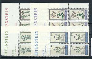 Liechtenstein  4er Eckrand Block **/MNH  1069-72 ( zz5371 ) DISCOUNT-unter ABO Preis !!