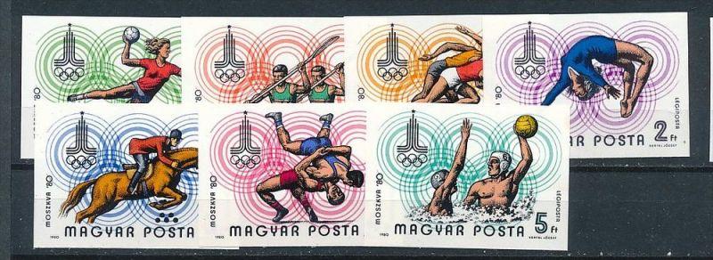 Ungarn  Nr 3433-39  B    **  (e9617 ) siehe scan  !