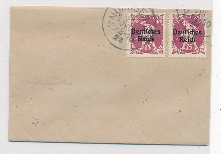 D.-Reich  2x 127 I   o   (bc3321 ) siehe scan