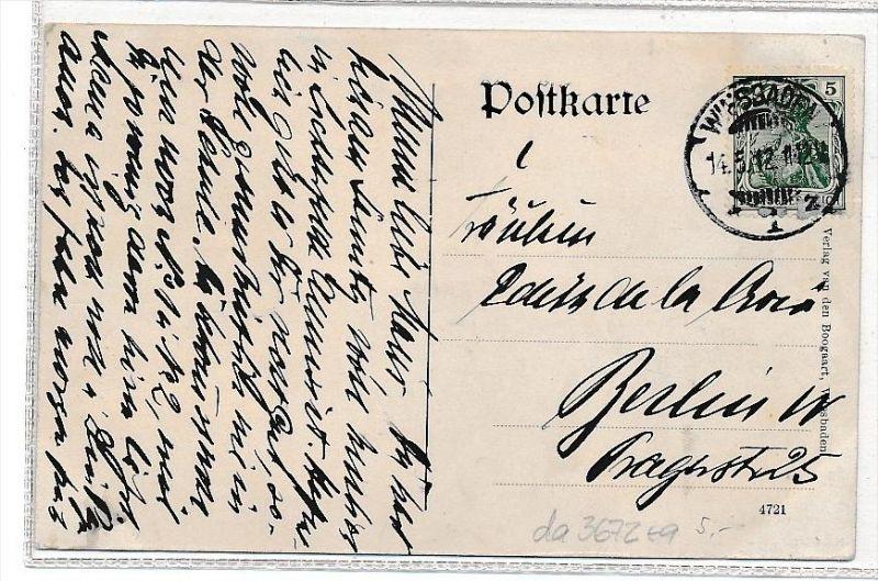 Wiesbaden Karte.Wiesbaden Karte über 100 Jahre Alt Da3672 Siehe Scan