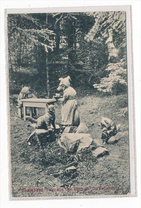 Thema  Märchen  -Karte über 100 Jahre alt  (da3667 ) siehe scan !!