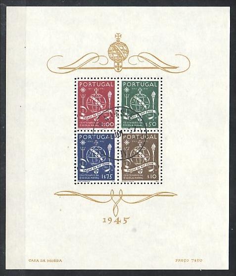 Portugal Block  9  o  ( p2722 ) siehe scan  !