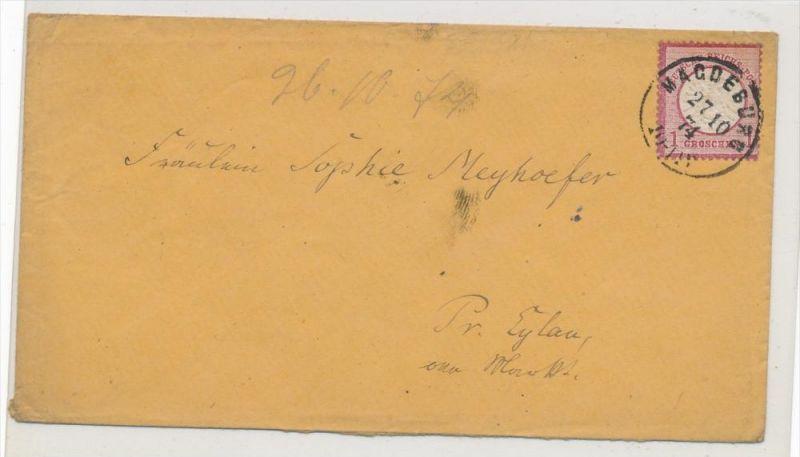 Deutsches Reich  Nr.19 VII  auf Brief  (ze59  ) siehe scan  !!