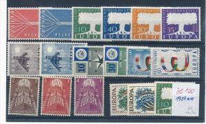 Europa/Cept -Jahr  1957   **/MNH-DISCOUNT       (ze 100   ) siehe scan  !!