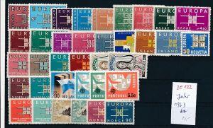Europa/Cept -Jahr  1963   **/MNH-DISCOUNT       (ze 122   ) siehe scan  !!