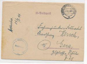 Feldpost Brief der  SS   (bc3513  )siehe scan  !