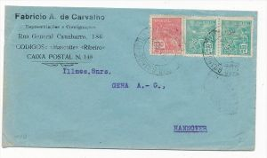 Brasilien Luftpost nach D  (zz5972 ) siehe scan  !