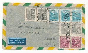 Brasilien Luftpost nach D  (zz5971 ) siehe scan  !