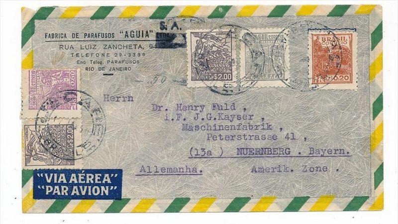 Brasilien Luftpost nach D  (zz5959 ) siehe scan  !