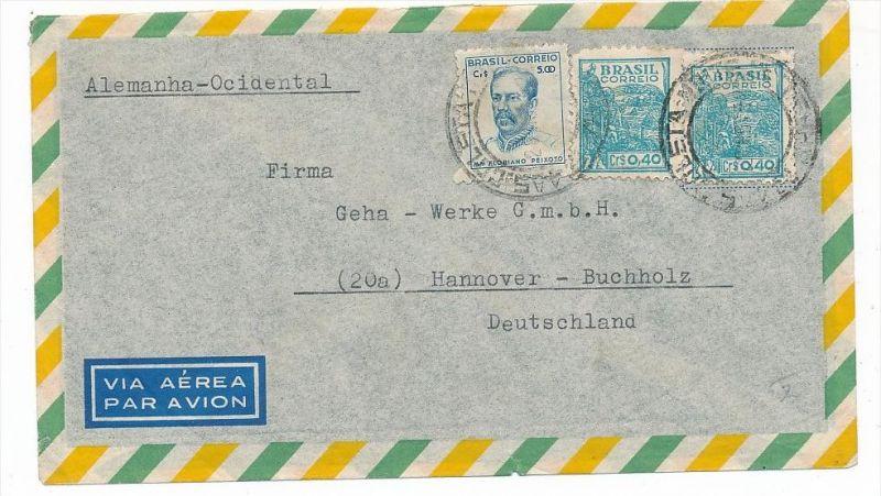 Brasilien Luftpost nach D  (zz5954 ) siehe scan  !