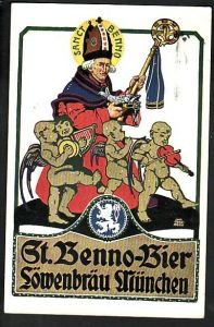 Werbung  Löwenbräu  -Karte- (bc592  ) siehe scan !