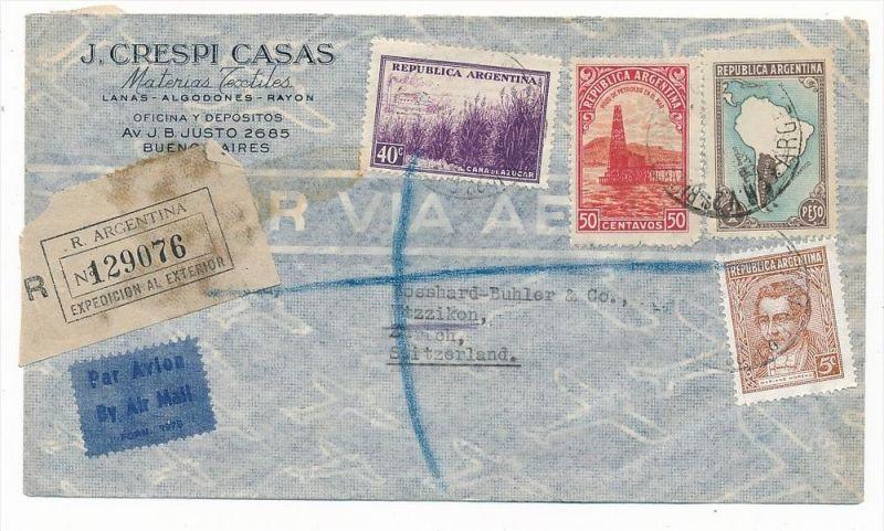 Argentinien Luftpost  nach Europa  (zz5928 ) siehe scan !