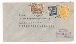 Kolumbien  Luftpostbrief nach Europa  (bc3661 ) siehe scan  !