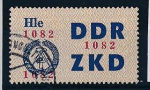 DDR-ZKD  Nr. 22  II  -amtlich ungültig gestempelt (f 9009 ) siehe scan !