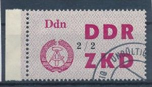 DDR-ZKD  Nr. 48  II -amtlich ungültig gestempelt (f 9014 ) siehe scan !
