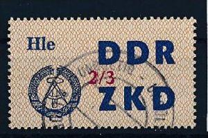 DDR-ZKD  Nr. 37 III -amtlich ungültig gestempelt (f 9044 ) siehe scan !