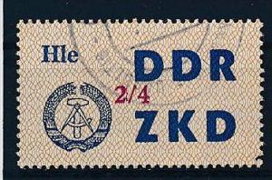 DDR-ZKD  Nr. 37 IV -amtlich ungültig gestempelt (f 9046 ) siehe scan !