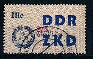 DDR-ZKD  Nr. 37 V -amtlich ungültig gestempelt (f 9034 ) siehe scan !