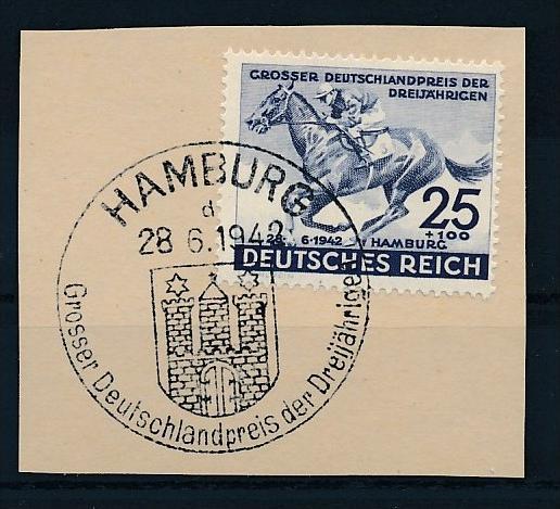 D.-Reich  Briefstück Sonderstempel  Nr.814  (f 8984  ) siehe scan !