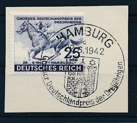 D.-Reich  Briefstück Sonderstempel  Nr.814  (f 8985  ) siehe scan !