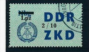 DDR ZKD Nr.  54 X   amtlich ungültig gestempelt  (f9071 ) siehe scan  !