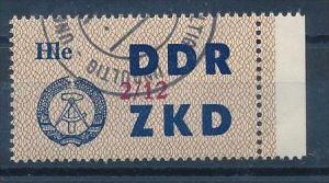 DDR ZKD Nr.  37 XII   amtlich ungültig gestempelt  (f9087  ) siehe scan  !