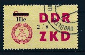 DDR ZKD Nr.  52 VIII  amtlich ungültig gestempelt  (f9108  ) siehe scan  !