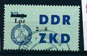 DDR ZKD Nr. 54 VIII  amtlich ungültig gestempelt  (f9120  ) siehe scan  !