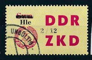 DDR ZKD Nr.  52  XII    amtlich ungültig gestempelt  (f9134  ) siehe scan  !