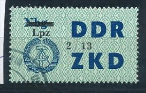 DDR ZKD Nr.  54 XIII   amtlich ungültig gestempelt  (f9135  ) siehe scan  !