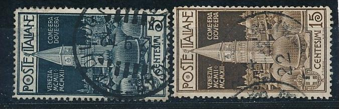 Italien  Nr. 105-6  o  (f9276  ) siehe scan  !