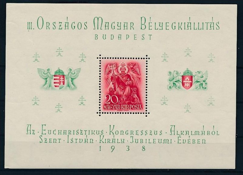 Ungarn Block   2 **  ( zz6126  ) siehe scan  !