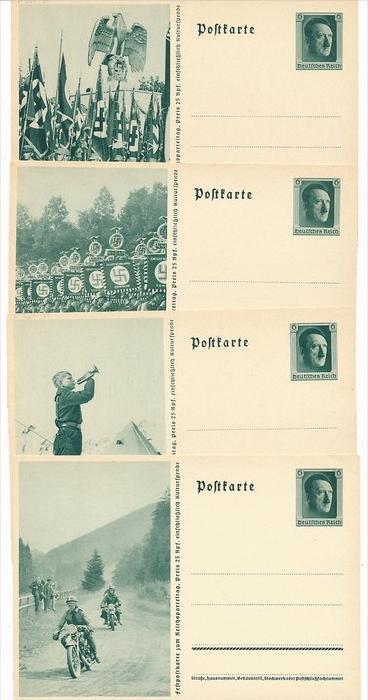 D.-Reich    Lot 7 Propaganda Ganzsachen   ( bc 4132 ) siehe scan !