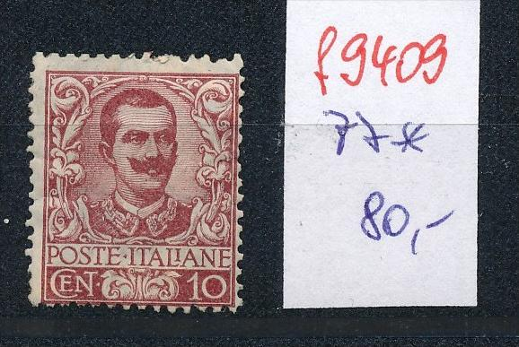 Italien  Nr. 77**   (f9409 ) siehe scan  !
