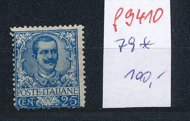 Italien  Nr. 79   *   (f9410 ) siehe scan  !