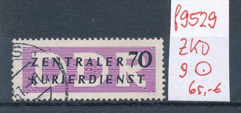DDR -ZKD Nr. 9 o Bedarf  (f9529 ) siehe Bild  !