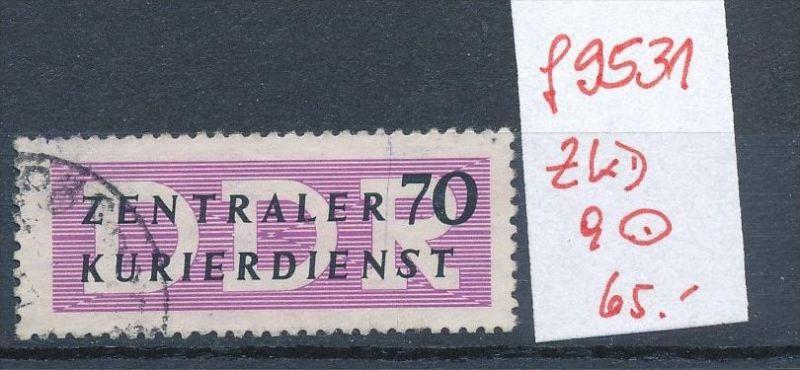 DDR -ZKD Nr. 9 o Bedarf  (f9531 ) siehe Bild  !