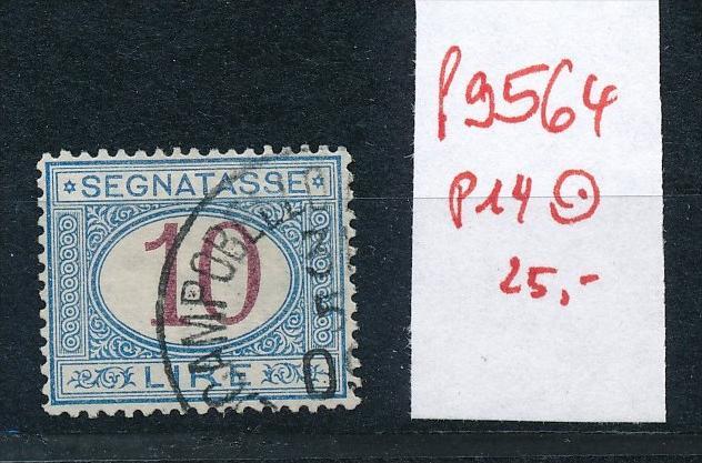 Italien - Porto Marken  14   ( f9564  ) siehe Bild  !