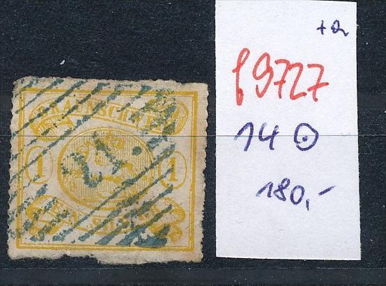 Braunschweig  Nr. 14  o  (f9727  ) siehe Bild vergrößert !