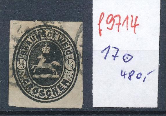 Braunschweig  Nr.  17  o  Lückenfüller (f9714  ) siehe Bild vergrößert !