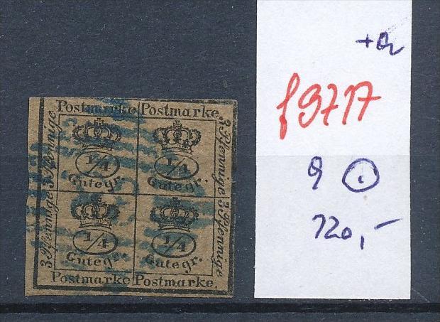 Braunschweig  Nr. 9  o   (f9717  ) siehe Bild vergrößert !
