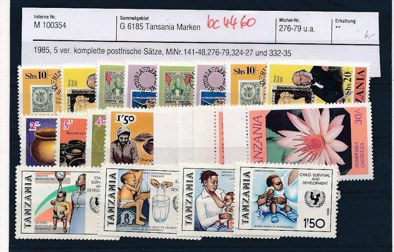 Tansania schönes  Lot  **    (bc4460 ) siehe Bild !!