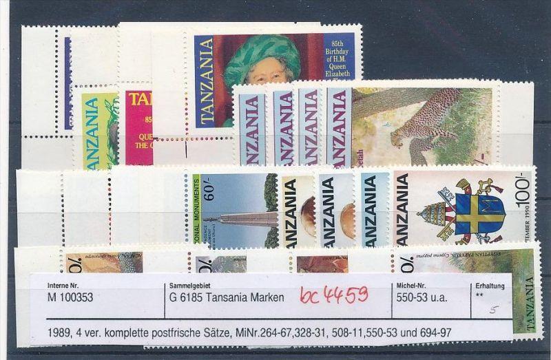 Tansania schönes  Lot  **    (bc4459 ) siehe Bild !!