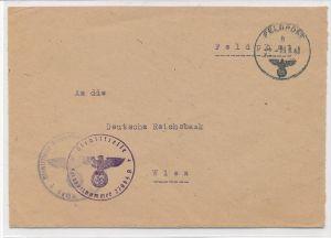 D.-Reich  SS-Feldpost      (zz6306  ) siehe scan  !