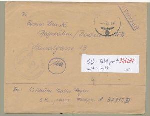 D.-Reich  Feldpost  der SS    (zz6297  ) siehe scan  !