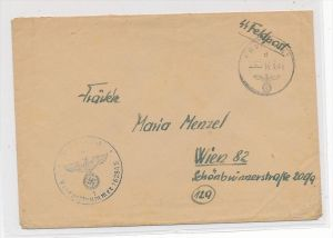 D.-Reich  Feldpost  der SS    (zz6295  ) siehe scan  !